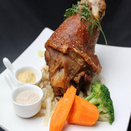 Roast Pork Knuckle 1